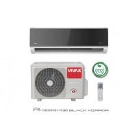 Инверторен климатик Vivax  ACP-12CH35AERI Black Mirror R Design, 12000 BTU, Клас A++