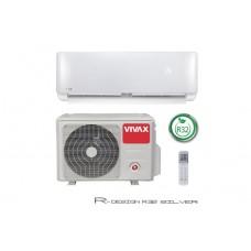Инверторен климатик Vivax  ACP-12CH35AERI Silver R Design, 12000 BTU, Клас A++