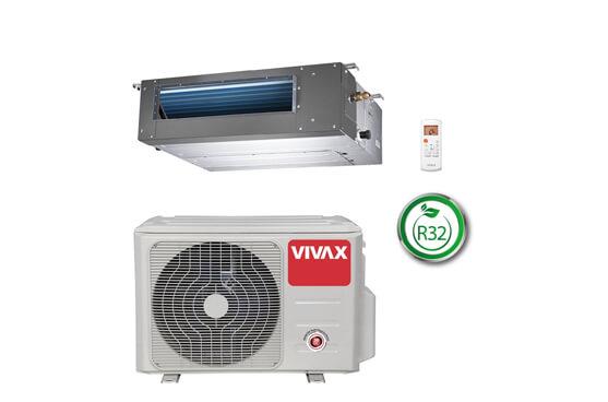 Канален климатик Vivax ACP-12DT35AERI, 12 000 BTU, Клас A++
