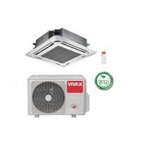 Касетъчен климатик Vivax ACP-24CC70AERI R32, 24000 BTU, Клас A++