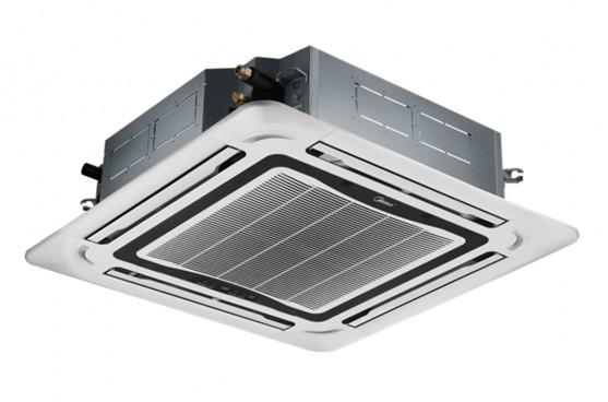 Касетъчен климатик Midea MCD-48HRFN1/MOE30U-48HFN1, 48 000 BTU, Клас А+