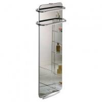 Стъклен лъчист конвектор за баня Campaver bains 1000W огледален