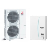 Термопомпа Mitsubishi Electric ERSE-YM9EC/PUHZ-SW200YHA, 25 kW, отопление, охлаждане и БГВ