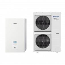 Термопомпа Panasonic Aquarea WH-SDC12H9E8/WH-UD12HE8, 12 kW, отопление, охлаждане и БГВ