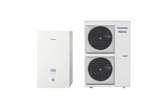 Термопомпа Panasonic Aquarea WH-SXC12H6E5/WH-UX12HE5 T-CAP, 12 kW, отопление, охлаждане и БГВ
