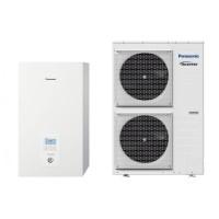 Термопомпа Panasonic Aquarea WH-SXC12H6E8/WH-UX12HE8 T-CAP, 12 kW, отопление, охлаждане и БГВ